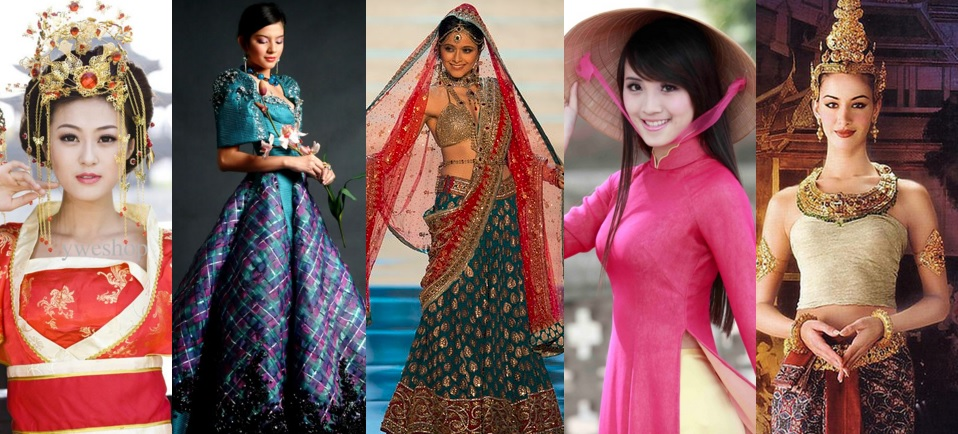 Take A Look At Traditional Wedding Outfits From Around The: Festival Of National Costumes